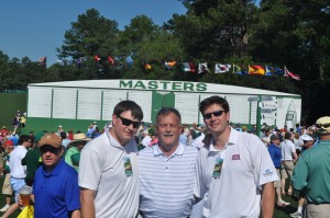 With Doug at The Master's