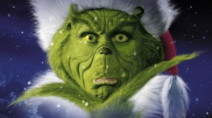 Jim Carrey as The Grinch - courtesy of Universal Pictures